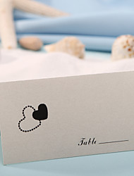 Place Cards and Holders Place Card - Hearts (Set of 12)
