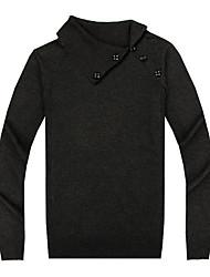 suéter de lã moda grande tamanho cabido