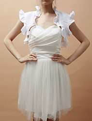 SleevelessTaffeta Special Occasion Evening Jacket/Wedding Wrap(More Colors) Bolero Shrug
