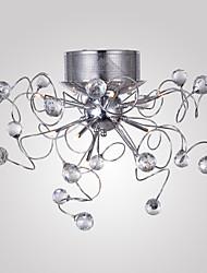 lustres de cristal design moderno de vida 9 luzes