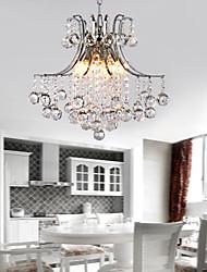 40 Pendelleuchten ,  Zeitgenössisch Galvanisierung Feature for Kristall Metall Wohnzimmer Schlafzimmer