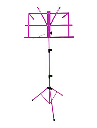 NG - (MS-PL) Purple Folding Portable Music Stand with Bag