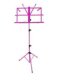 NG - (MS-PL) Purple Music Stand dobrável portátil com saco
