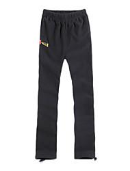EAMKEVC Frauen winddichte Outdoor-Hose Terylene Polyester schwarz, grau, rosa XXL, XL, L, M, S