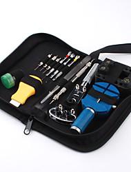 13-teilige Uhr Reparatur-Tool-Kit Gehäuseöffner Federsteg