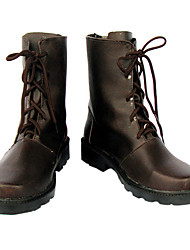 Cosplay Boots Inspired by Vampire Knight Yuki Kuran Brown