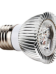3W E26/E27 LED Spotlight MR16 3 High Power LED 270 lm Red AC 85-265 V