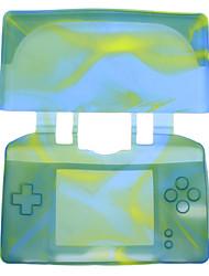 Защитный силиконовый чехол камуфляж для Nintendo DSL (разных цветов)