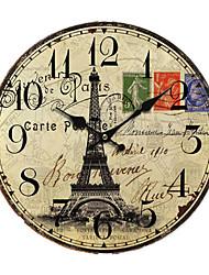 Euro Pays Horloge murale