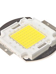 DIY 70W 6000-7000LM 6000-6500K Natural White Light Integrated LED Module (33-35V)