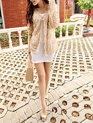 Party/Evening Cotton / Lace / Tulle Coats/Jackets Short Sleeve