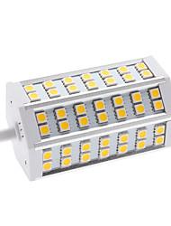 9W R7S LED a pannocchia T 42 SMD 5050 650 lm Bianco caldo AC 85-265 V