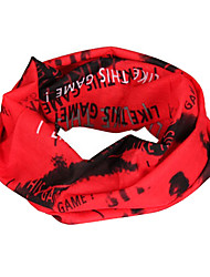 Fashion Designed Cycling Scarf (Red)