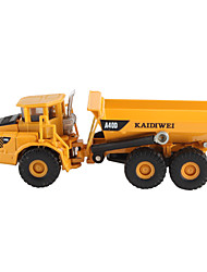 KAIDIWEI Building Site Skid Steer Flexible Metal Dump Truck