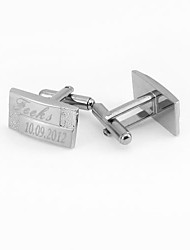 Gift Groomsman Personalized Fashion Cufflinks