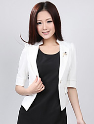 Women's Stand Collar Slim Blazer