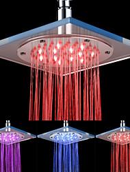 8-12-polegadas LED Shower Head Acrílico Teto (cores sortidas)