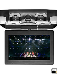 13.3 Inch Roof Mount Car DVD Player Support Game, SD Card