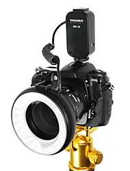 MR-58 58PCS LED Macro Anel luz Flash para Canon 600D 5D MarkII Nikon D7000 D90
