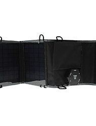 5W Portable Multi-Functional Solar-Ladegerät mit Car Barrel Power Adapter