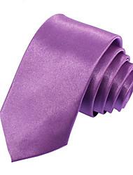 Men's Narrow Solid Color Necktie(Width:5CM)