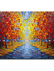 Mão paisagem Pintura a óleo pintado 1211-LS0071