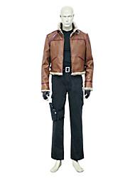 Inspiriert von Resident Evil Leon Scott Kennedy Video Spiel Cosplay Kostüme Cosplay Kostüme einfarbig Braun Lange ÄrmelMantel / Weste /