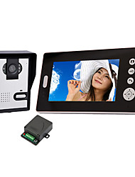 Wireless Night Vision Camera with 7 Inch Door Phone Monitor