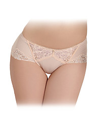 Charming Chinlon with Lace Waistline Brief