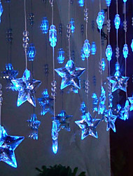4Mx0.65M lámpara LED de cadena con 96 LEDs de la Navidad y decoración de Halloween