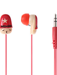 Finger Expression Comfort Stereo In-ear Earphone for iPad, iPhone, iPod
