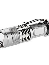 fx SK68 1-la modalità cree xr-di posta q5 la torcia elettrica principale (200lm, 1xaa/14500, argento)