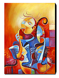 Oil Painting Abstract 1211-AB0262 Hand-Painted Canvas
