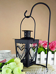Wedding Décor Heart Design Iron Candle Lantern (More Colors)