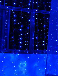 2Mx1.2M Blu Love Light String LED con 120 LED