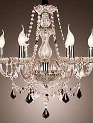 40W Chandelier ,  Rustic/Lodge Others Feature for Crystal Glass Living Room Bedroom