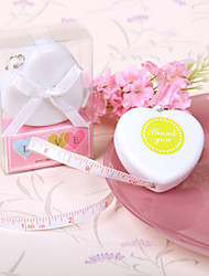 Heart Tape Measure Keychain