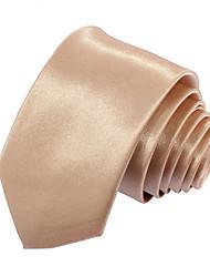 Men's Solid Color Narrow Trendy Necktie(Width:5CM)