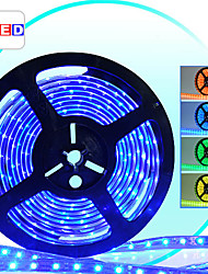 Prueba 10M Agua Multi-color LED Strip con 600 LEDs, remoto e interruptor