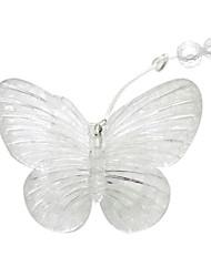 8Mx0.75M Purple Butterfly LED String com 192 LEDs