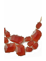 Неправильной формы ожерелье сплава акриловые