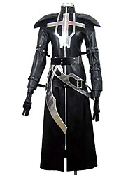 Inspired by Lamento-BEYOND THE VOID Ricus Video Game Cosplay Costumes Cosplay Suits Patchwork Black Long SleeveCloak / Shawl / Gloves /