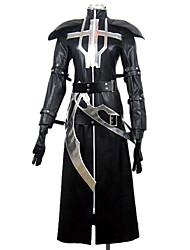 Inspiré par Lamento-BEYOND THE VOID Ricus Vidéo Jeu Costumes de cosplay Costumes Cosplay Mosaïque Noir Manche LonguesCape / Châle / Gants