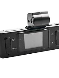 1,4 pouces 120 degrés DVR Voiture Grand Angle de vue avec prise en charge intégrée Microphone LED Vision Nocturne