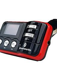 Multi-funcional jogador do carro com transmissor de FM e MP3