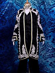 Inspiré par Vocaloid Kaito Vidéo Jeu Costumes de cosplay Costumes Cosplay Jacquard Manche LonguesManteau / Veste / Chemise / Pantalons /