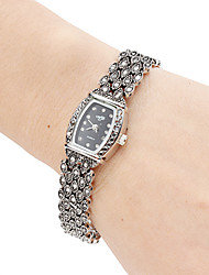 Mulheres Relógio de Moda Relógio de Pulso Bracele Relógio Quartzo Banda Preta marca