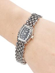 Damen Modeuhr Armbanduhr Armband-Uhr Japanisch Quartz Band Elegante Schwarz