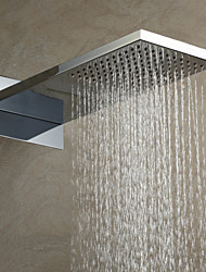 55×23cm A Grade ABS Chrome Finish Rain Shower Head