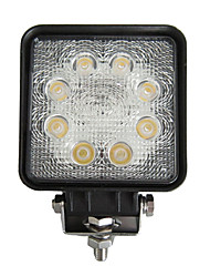 24W Rectangle 8 LED Work Light